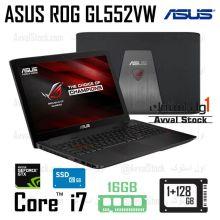لپ تاپ استوک گیمینگ | ایسوس ASUS ROG GL552VW i7 Nvidia GTX 960M