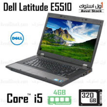 لپ تاپ استوک DELL Latitude E5510 i5 Intel HD – F
