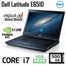 لپ تاپ استوک Dell Latitude E6510 i7 Nvidia