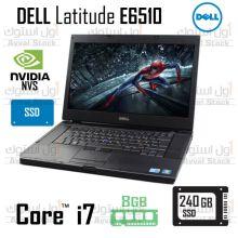 لپ تاپ استوک | DELL Latitude E6510 i7 Nvidia NVS 3100M SSD