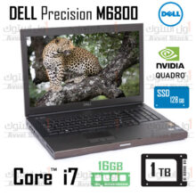 لپ تاپ ورک استیشن دل | DELL Precision M6800 i7 Quadro K3100m Gaming
