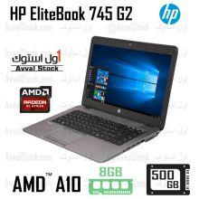 لپ تاپ استوک Hp ProBook 745 G2 AMD A10