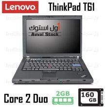 لپ تاپ استوک لنوو Lenovo Thinkpad T61 Core 2 Duo
