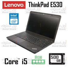 لپ تاپ استوک Lenovo ThinkPad EDGE E531 Core i5 intel HD