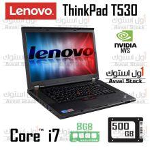 لپ تاپ استوک Lenovo Thinkpad t530 i7 QM Nvidia Nvs 5200M