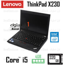 لپ تاپ استوک Lenovo ThinkPad X230 i5 intel – P