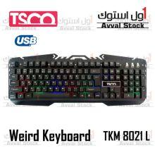 کیبورد تسکو مدل TK 8021L با حروف فارسی