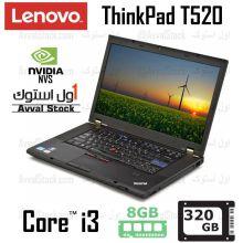 لپ تاپ استوک Lenovo ThinkPad T520 i3 Nvidia